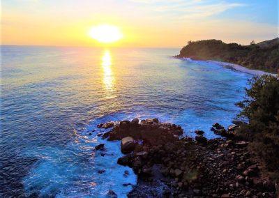 Baie Ternay Sunset